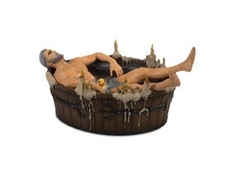 Witcher - Geralt in Badewanne Wild Hunt Statue