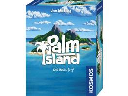 KOSMOS 741716 - Palm Island, Die Insel to go, Spielt sich bequem in einer Hand