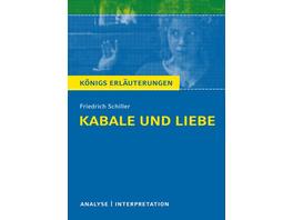 Kabale und Liebe von Friedrich Schiller.