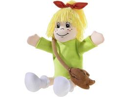 Heunec 396074 - Bibi Blocksberg, Handspielpuppe, Puppe, 32 cm