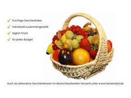 Obstkorb Marie  Exoten