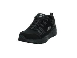 Skechers Herren Relaxed Fit:Equalizer 4.0 Trail Schwarzer Materialkombinierter Sneaker