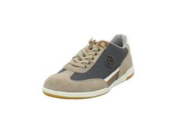 Bugatti Herren Solar Exko Beiger Leder/Textil Sneaker