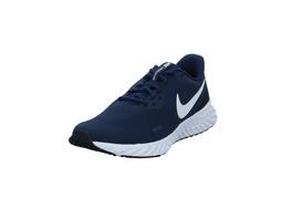 Nike Herren Revolution 5 Blaue Textil Sneaker