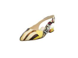 Högl Damen 1-100120-4999 Multicolorfarbener Glattleder Sling