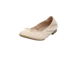 Tamaris Damen 22116-927 Roséfarbener Glattleder Ballerina
