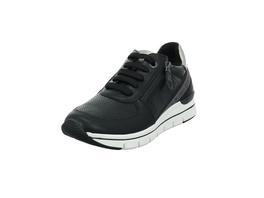 Marco Tozzi Damen 23773-096 Schwarzer Synthetik/Textil Sneaker