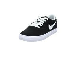Nike Damen WMNS Nike SB Check Solar Schwarzer Veloursleder Sneaker