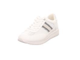 s.Oliver Damen 23607/110 Weiße Synthetik Sneaker