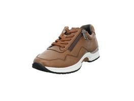 Caprice Damen 23701-335 Brauner Glattleder Sneaker