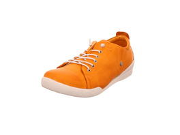 Andrea Conti Damen 0345724-025 Orangefarbene Glattleder Sneaker
