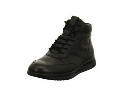 Ecco Damen Aquet Boot Soft 2.0 Schwarze Glattleder Boots