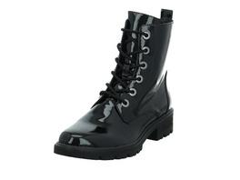 Tamaris Damen 25280-018 Schwarzer Lackleder Boot