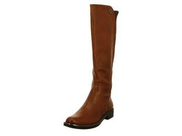 Caprice Damen Kania B4 Braune Glattleder Stiefel