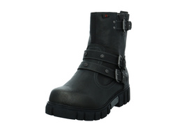 Mustang Damen 1291602-259 Grauer Synthetik Boot
