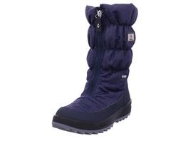 Vista Damen 11-31322 Blaue Textil Schneestiefel