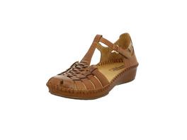 Pikolinos Damen 655-0064 Braune Glattleder Sandale