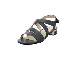 Caprice Damen 28100-855 Blaue Glattleder Sandalette