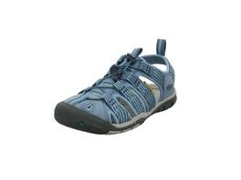 Keen Damen Clearwater CNX Blaue Synthetik/Textil Outdoor Sandale