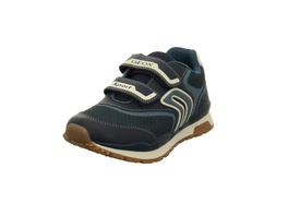 Geox Kinder Pavel Blaue Synthetik/Textil Sneaker