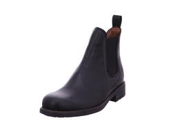 Sabalin Kinder 54-2044 Schwarze Glattleder Chelsea Boots
