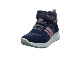 Superfit Kinder Merida Blauer Veloursleder Boot