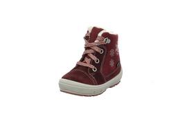 Superfit Kinder Groovy Roter Leder/Textil Winterstiefel