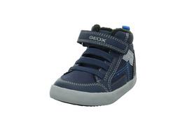 Geox Kinder B Gisli Boy Blauer Synthetik/Textil Winterboot