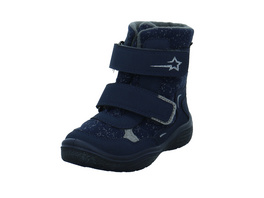Superfit Kinder Crystal Blauer Synthetik/Textil Winterstiefel