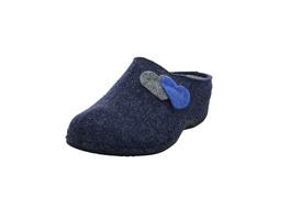 Westland Damen Cholet 02 Blauer Textil Pantoffel
