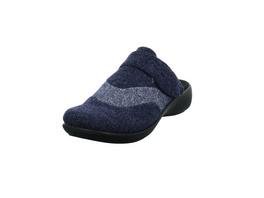 Westland Damen Korsika 308 Blauer Textil Pantoffel
